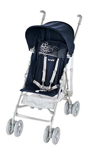 Brevi 790 b light - passeggino per bambini tra 6 mesi e 3 anni (mass. 15 kg), blu