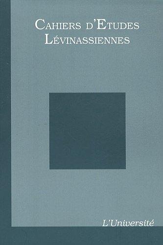 Cahiers d'Etudes Lévinassiennes, N° 10 : L'Université par Gilles Hanus