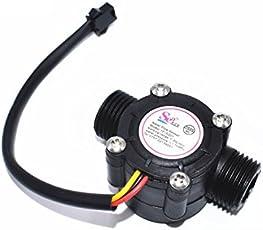 OLatus YF-S201 Water flow sensor flowmeter Hall flow sensor Water control 1-30L/min 2.0MPa for DIY Arduino DSP AVR PIC