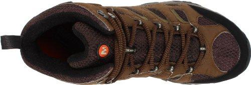 Merrell Moab Mid Gore-Tex Chaussures de randonnée - Hommes Marron (Dark Earth)