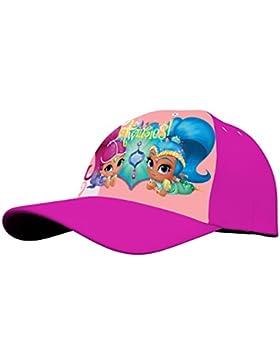 Kids Shimmer&Shine, Gorra para Niñas, Rosa (Pink 005), One Size (Tamaño del fabricante:TU)