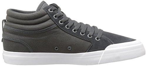 DC - Evan Smith Salut S Chaussures de skate pour hommes Dark Grey/White