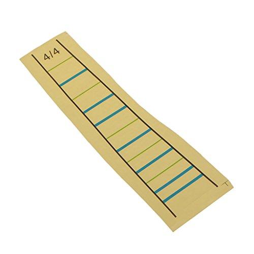 e Griffbrett Aufkleber Geige Grafik Finger Marker Student Lernhilfe ()