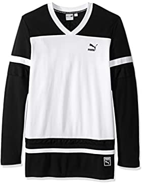 Camiseta de manga larga Bball para hombre, Puma Black, XX-Large