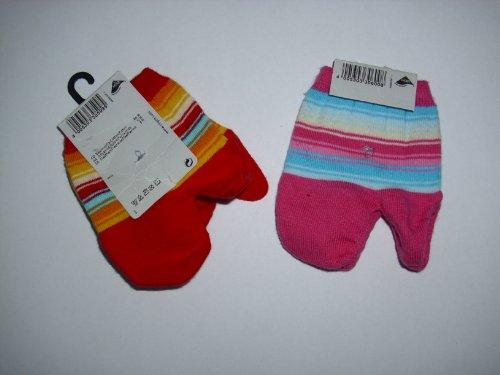 Ergee Fussspitzensocken Socken nur für vorne Einheitsgrösse Farbe: Rot / Blau oder Rosa / Blau gestreift Material: 80% Baumwolle, 15% Polyamid, 5% Elasthan verschieden sortiert.