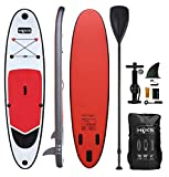 HIKS XQ 10ft/3m Stand Up Paddle SUP Board Set Inc Paddle, Pump, Backpack