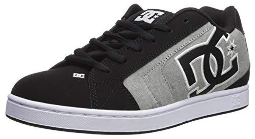 DC Shoes Men's Net SE Low Top Sneaker Shoes Black Charcoal 9