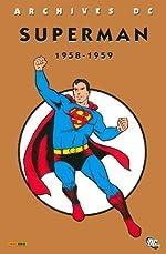 Superman l'Intégrale, Tome 1 - 1958-1959 de Jerry Coleman