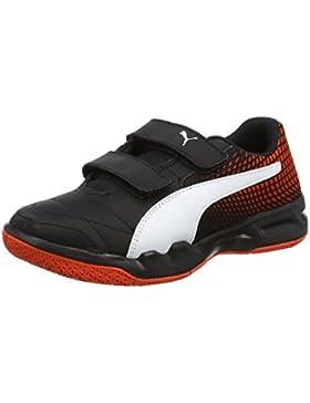 [Patrocinado]Puma Veloz Indoor Ng V Jr, Zapatillas de Deporte Interior Unisex Niños