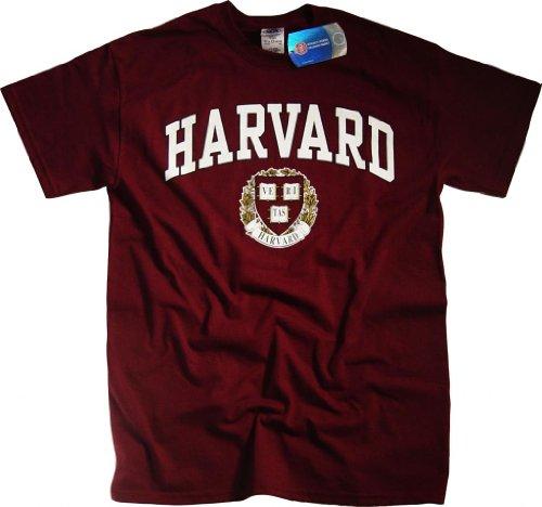 Harvard University Maglietta Felpa con cappuccio legge Business Clothing Apparel rosso medium