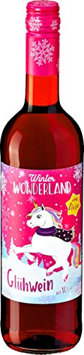Glühwein EINHORN - WINTER WONDERLAND (10% vol. Alc. / 0,75 Liter) WEIHNACHTS - HIGHLIGHT