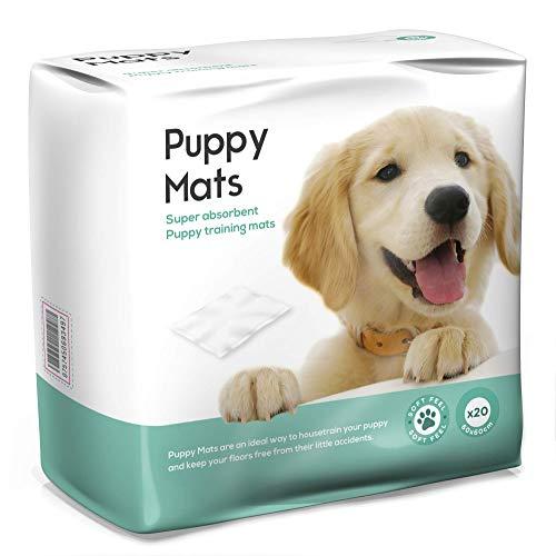 Drylife Puppy Mats - Bodenschutz, Hygieneunterlagen für Hunde & Trainingsunterlagen für Welpen, 100 St