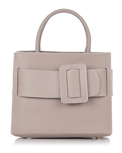 Laura Moretti - Borsa in pelle con cintura Make-Up