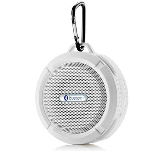 Wasserdichter Tragbarer Bluetooth-Lautsprecher Staubdichter, Großer Saugnapf Mini-TF-Subwoofer Für Den Außenbereich