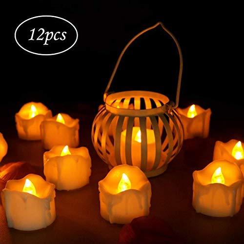 innislink LED Kerzen, LED Flammenlose Kerzen mit Timerfunktion -