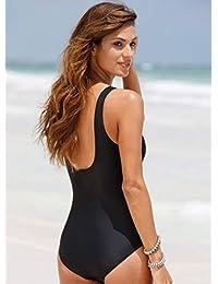 Women Plus Size Swimwear Bikinis One Piece Swimming Costume 0cf655c7b