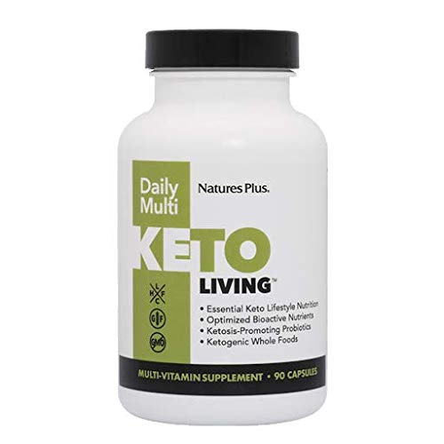 Natures Plus KetoLiving Daily Multi, 90 Kappenules