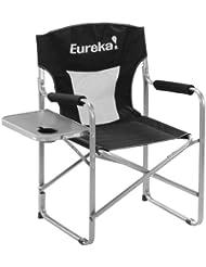 Eureka! Directors Chair w Side Table black