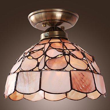 Rustico Lampada Graziosa Con Motivo floreale