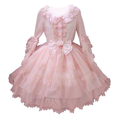 Partiss Damen Klassisches Kleid Prinzessin Cosplay Rock Lolita - Comic-con-kostüme Frauen
