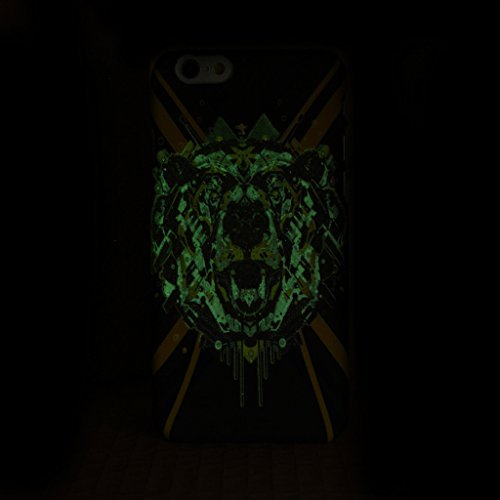iPhone 5S Fall, Fashion Tier-Muster Design mit Kunstlicht Kunststoff HardCase Schutzhülle FÜR iPhone 5s (1), 8, IPhone 6S Plus 8