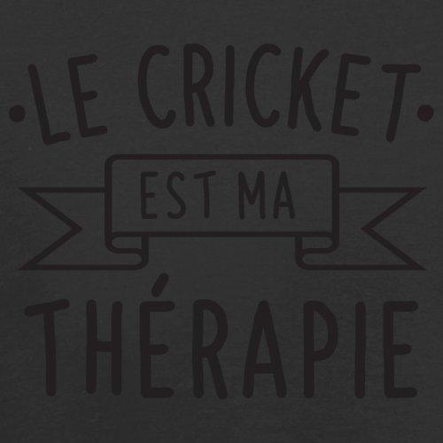 Le cricket est ma thérapie - Femme T-Shirt - 14 couleur Noir