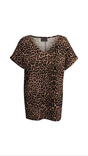 AHR LTD @ - Canotta -  donna Leopard Print