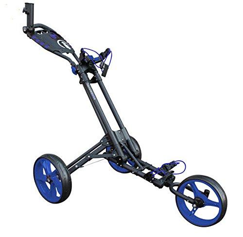 iCart Masters Golf Un Compact 3Roues Un clic Push Chariot...