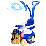 Paw Patrol Chase Ride-On Push Car | Chase Face Shape | Imported Premium Quality | Blue Colour