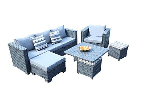 Yakoe 50315 Monaco 9 Sitzer Garten Möbel Terrasse Wintergarten