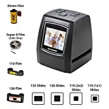 ArmaGedon 14 Mega pixel Scanner per diapositive ad alta risoluzione, converte 35mm, 126/110 Pellicola, Super 8 Negative/Slide a JPEG Salva in SD Card con display LCD da 2,4'