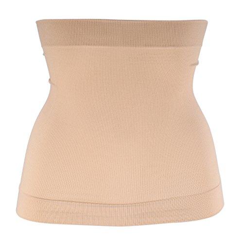 BigBig Style Frauen Taille Trainer Korsett Training Gewichtsverlust Magen Shaper Nahtlose Shaperwear Frauen Magen Shaper Workout Taille Form (Color : Khaki) -
