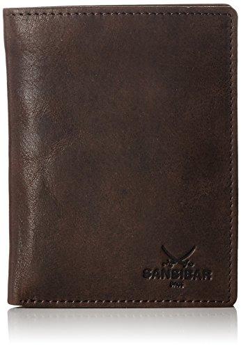 Sansibar B-247 ST Herren Geldbörsen 10x14x2 cm (B x H x T) Braun (Dark Brown)
