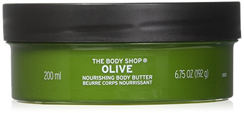 The Body Shop Olive Body Butter unisex, Olive Körperbutter 200 ml, 1er Pack (1 x 200 ml)