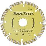 Disque à tronçonner diamant 115x 22,2mm disque à tronçonner diamant pour meuleuse d'angle