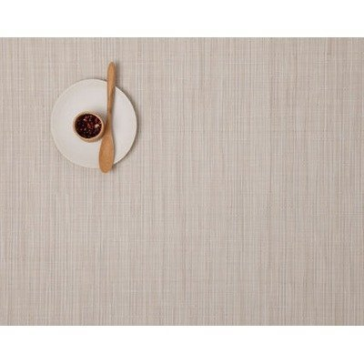 Chilewich Placemat Bamboo Rectangle - Chalk Chilewich Bamboo