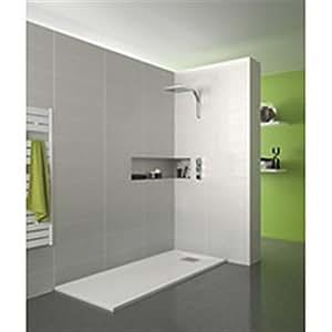 Receveur KINESURF bpc 120x80 blanc réf rd625