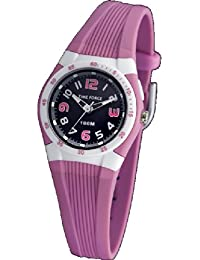 Time Force TF-3388B06 – Reloj de pulsera, correa de caucho color rosa
