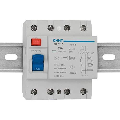 20 A Chint NBH8-40-B20 Interruptor de circuito en miniatura 1 P+N curva B