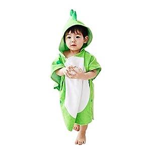 Missley Bebé Dinosaurio Bañera Toallas