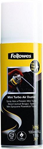Fellowes 93512 - Spray limpiador de aire a presión mini Turbo 100ml