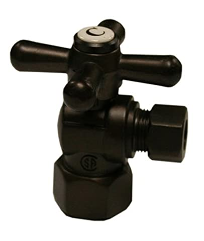 Plumbest S42-03RB Quarter Turn Angle Stop, Oil Rubbed Bronze by Jones Stephens