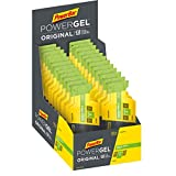 PowerBar Power Gel Original mit Kohlenhydraten, Maltodextrin und Natrium - Energie Gels - Vegan - Green Apple , 24 x 41g