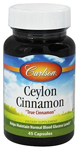 Carlson Ceylon Cinnamon 500 mg 45 Capsules