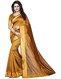 Esomic Velvet/Khadi Silk Saree With Blouse Piece (Velvet / Khadi_Free_size)