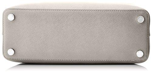 Michael Kors, Borsa a mano Donna, Grigio (Grigio (Cement 092)), 15.2x25.4x35.6 cm (B x H x T)