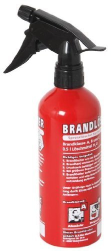 Erfurth brandlöscher: The Spezial-trinkflasche for Dry Throat