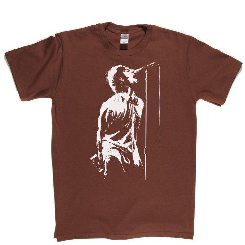 Liam Live Rock Music Singer Song Tee T-shirt Braun