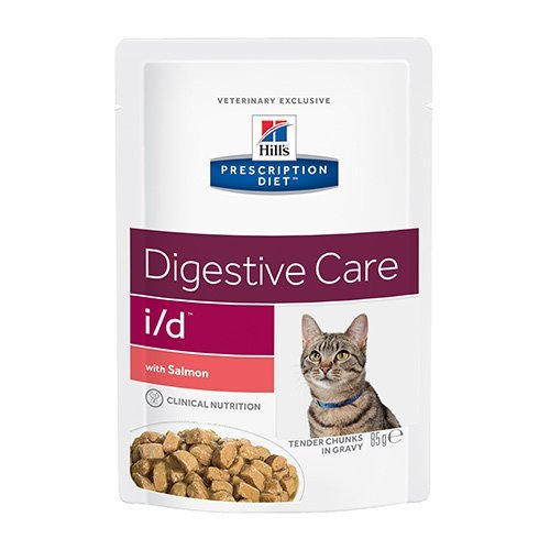 Hill´s Prescription Diet Feline i/d Frischebeutel mit Lachs Bitte auswählen: 12x85 gr MHD 07/14 -