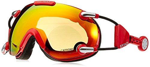 Casco Skibrille FX-70 MagnetLink mit Carbonic Scheibe, incl. Hardcase und Sacchetto – alle Designs